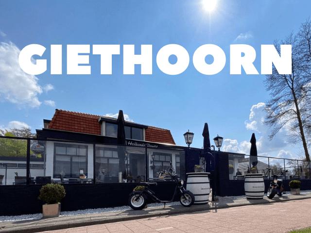 hollands venetie giethoorn elektrische scooter huren